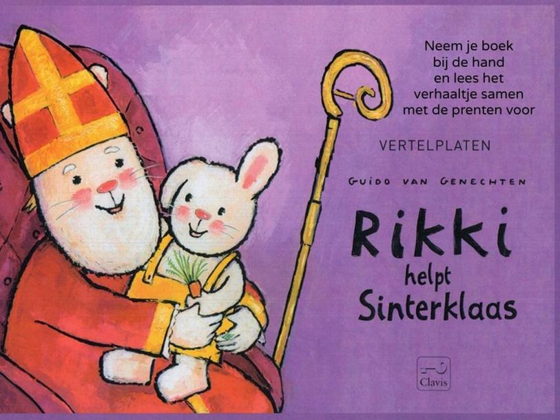 Rikki help Sinterklaas - Verhaal & spelletjes by Femke Huygens