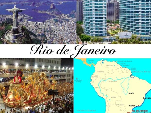 Rio De Janeiro by Lisa Sampey