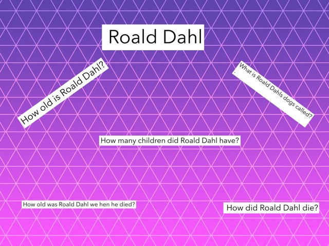 Roald Dhal by Tawny Owls