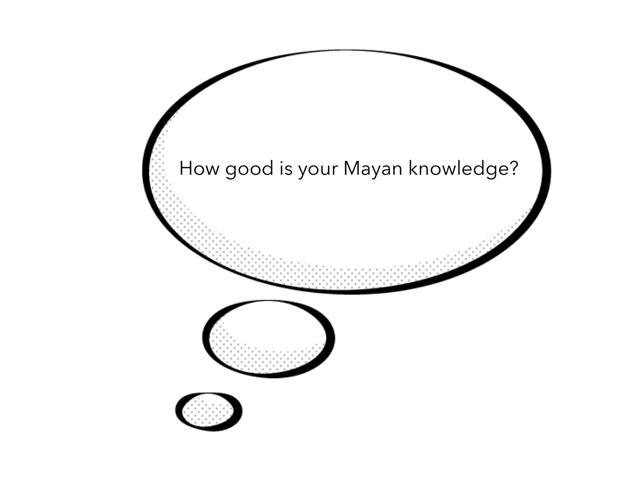 Robbie Mayans Quiz by Mr Matthews