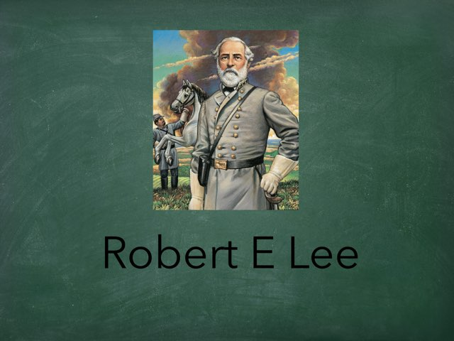 Robert E Lee by Cristina Chesser