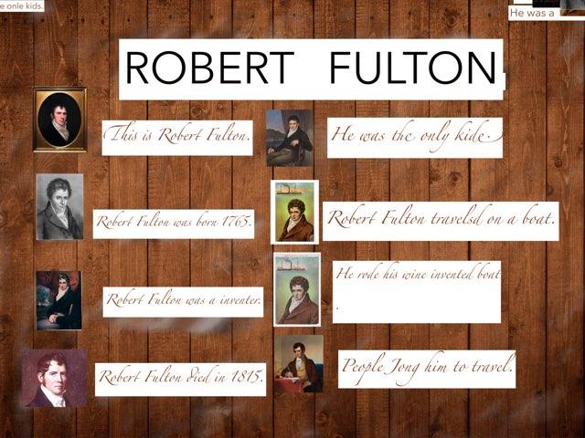 Robert Fulton by Danielle Moore