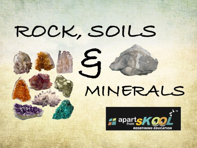 Rock Solid And Minerals by TinyTap creator