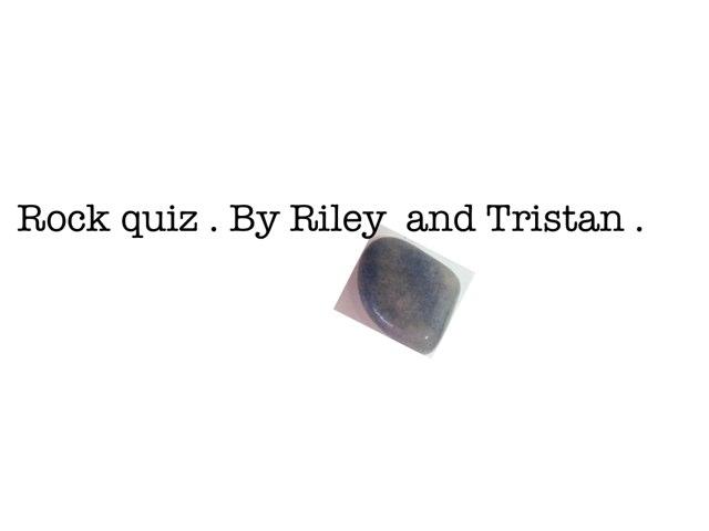 Rock quiz by Arlene Gregersen