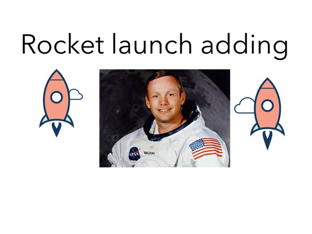 Rocket Launch Adding  by Zoë Howson