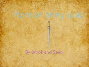 Roman Armour Quiz by Fiona Crean