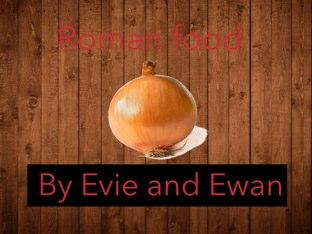 Roman Food Quiz by Fiona Crean