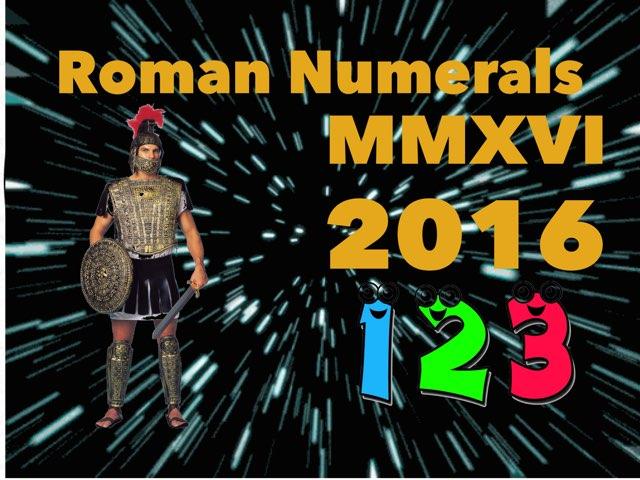 Roman Numerals by Nicolas cervantes