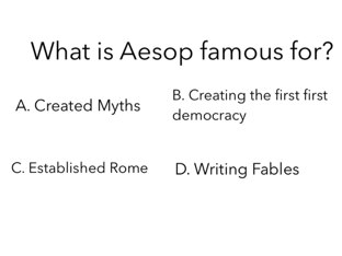 Rome/Greece Book Questions by Ryan Patterson