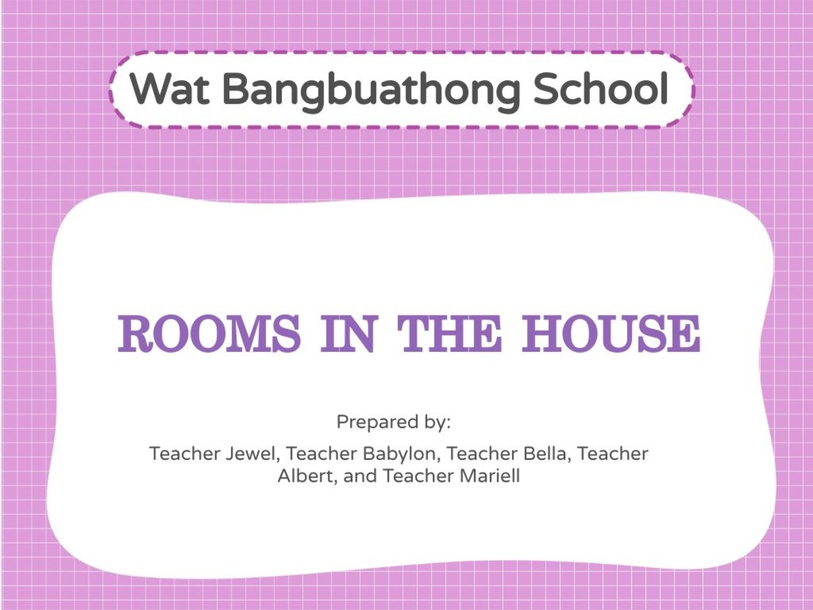 Rooms in the House by Mariell Paderos
