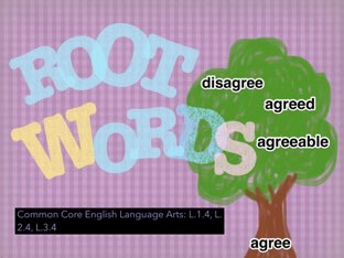 Root Words #EarthDay theme by Jennifer Sanders