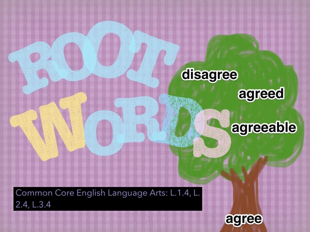 Root Words #EarthDay theme by Jennifer