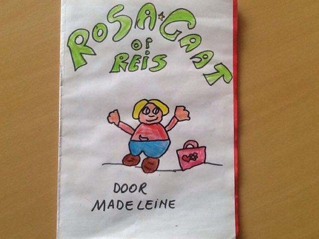 Rosa Gaat Op Reis  by Tuur Dewilde