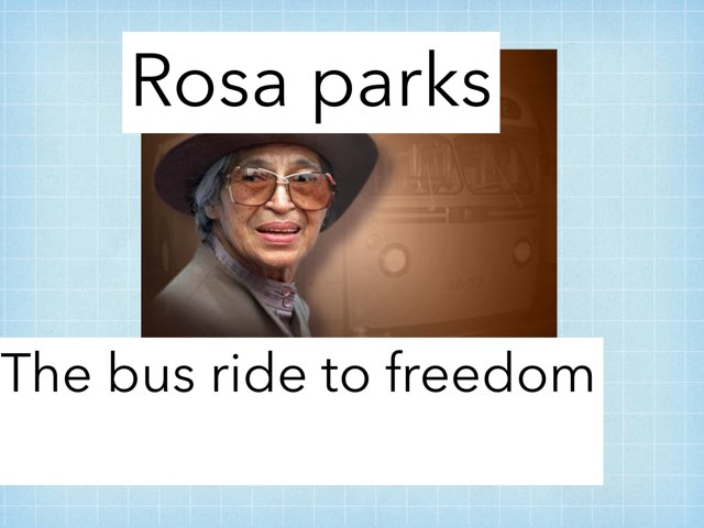 Rosa Parks by Danielle Moore