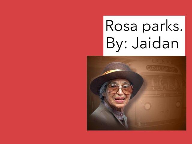 Rosa Parks by Jessica tamaccio