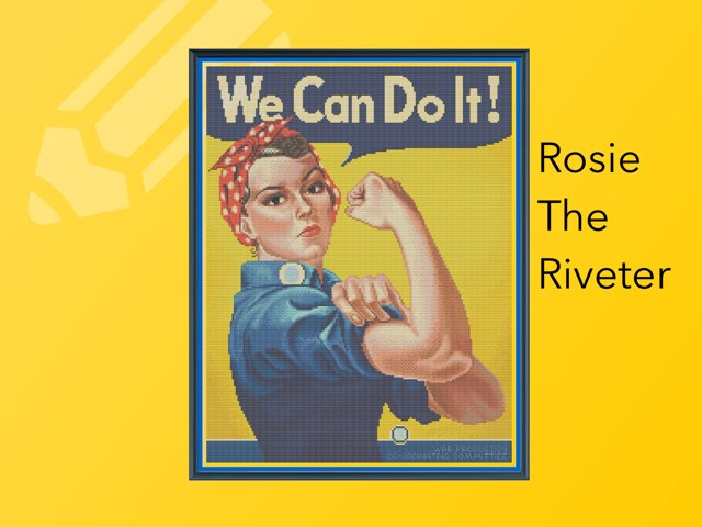 Rosie The Riveter by Cristina Chesser