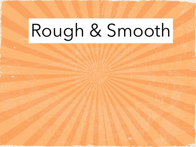 Rough Vs Smooth by Vanessa Bowne