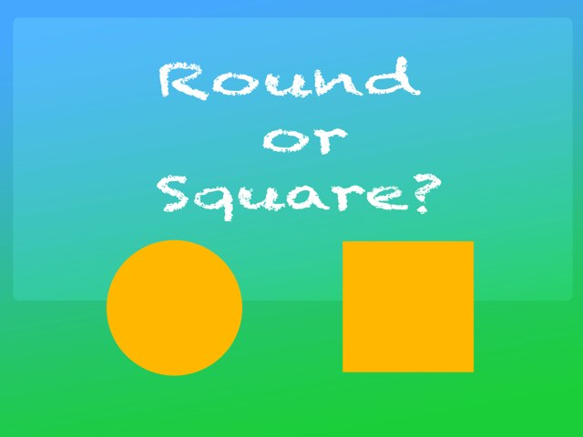 Round Or Square by Karen Souter