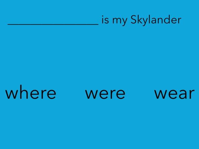 Ryan's grammar Game by StBarts PrimarySchool