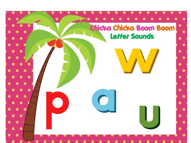 SF Chicka Chicka Boom Boom Letter Practice Copy  by D. goodman