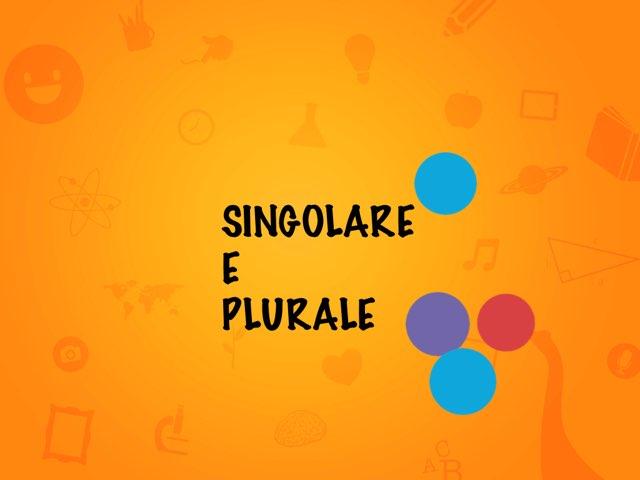 SINGOLARE E PLURALE  by Margherita Bilello