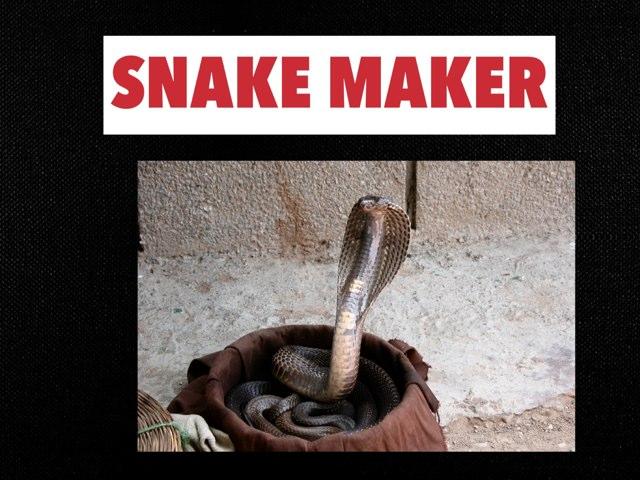 SNAKE MAKER by Anurag Simha