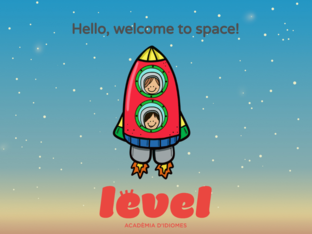 SPACE VOCABULARY KIDS 2 by LEVEL IDIOMES MOIÀ