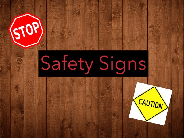 Safety Signs by Federica Carulli