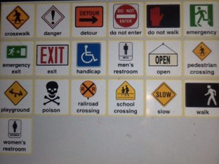 Safety Signs by Wendy Hazelwonder