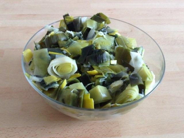 Salade De Poireaux by Saja Enfant