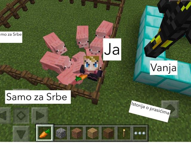Samo Za Srbe Mincraft by Fire Warior