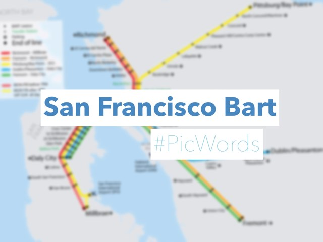 San Francisco Bart (#PicWords) by Yogev Shelly