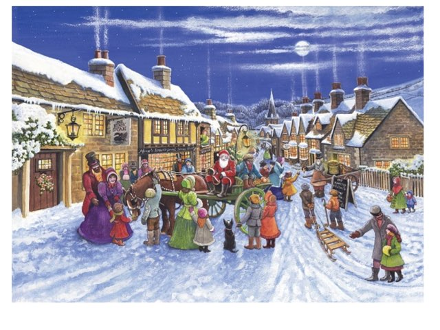 Santa Village  by Daniel Whiting