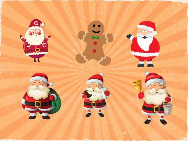 Santa's Christmassy Choosing Game by Nicola Kurdo