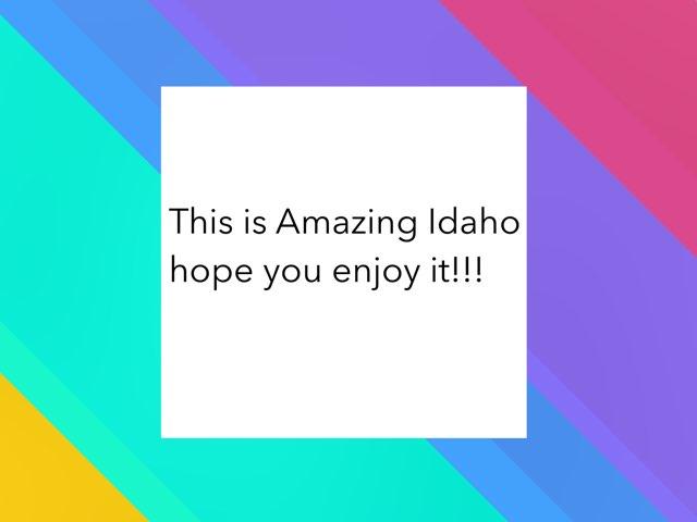 Sarah's 2 Idaho by Claire Mracek