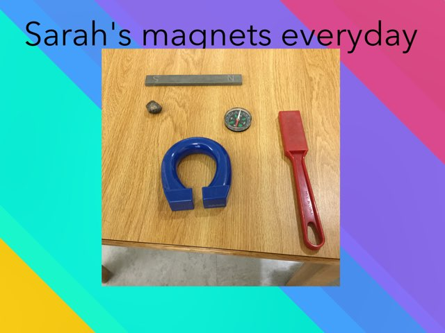 Sarah's magnets everyday by Frances Chapin