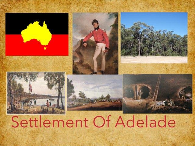 Sasha M, settlement of Adelaide  by Sasha