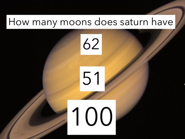 Saturn Quiz by Courtney Durbin