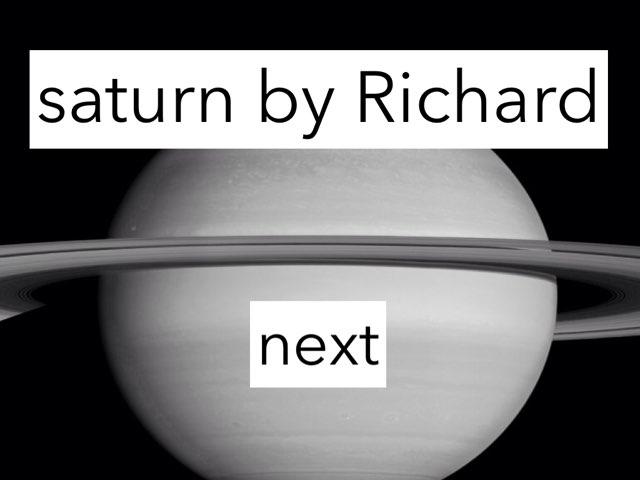 Saturn by Courtney Durbin