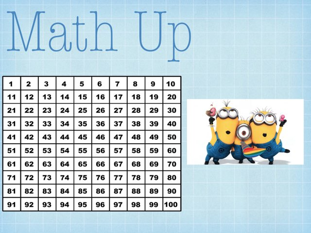 Save The Minions Math Up by Minnie Prior