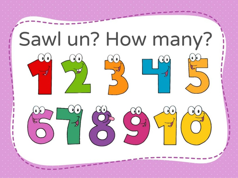 Sawl un? How many? by Kirsty Evans