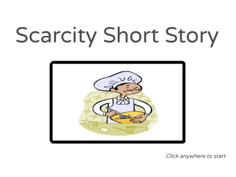 Scarcity Short Story by Julio Pacheco