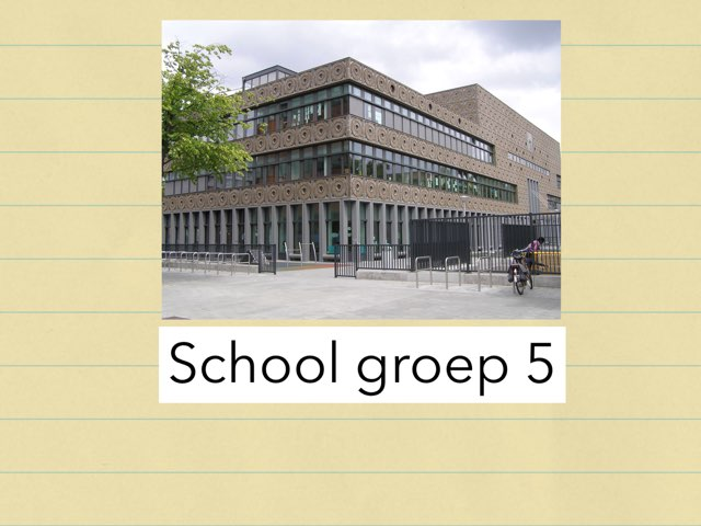 School Groep 5 by Wieke Jasper
