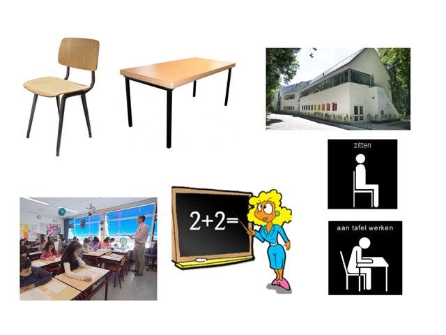 School Klas by Marieke Vaessen