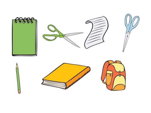 School Supplies Simple  by NA dall