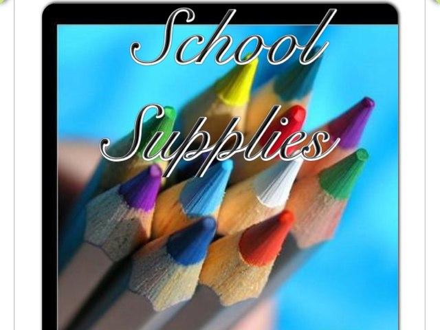 School Supplies by May Perdomo