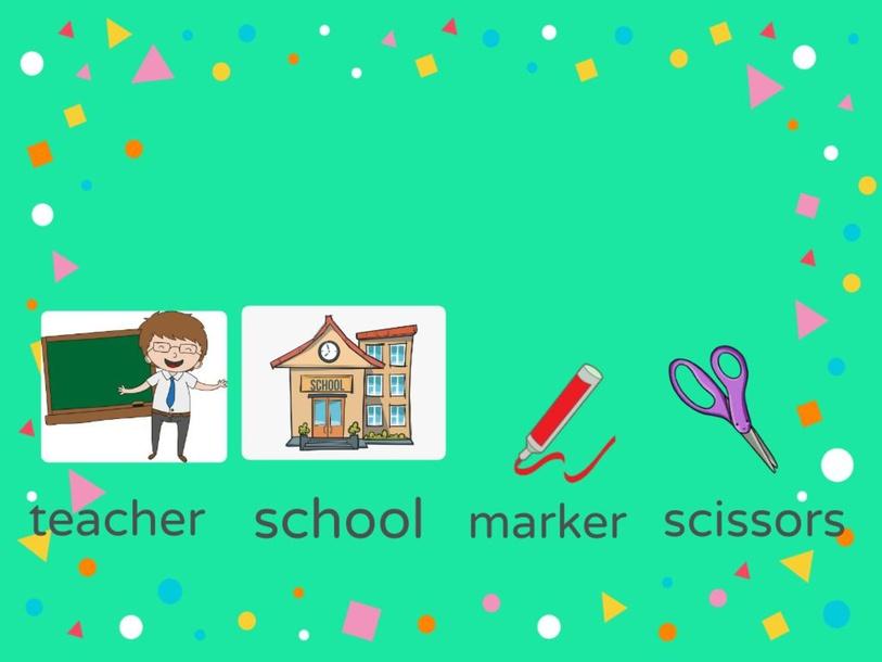School Objects by Yoli Munoz