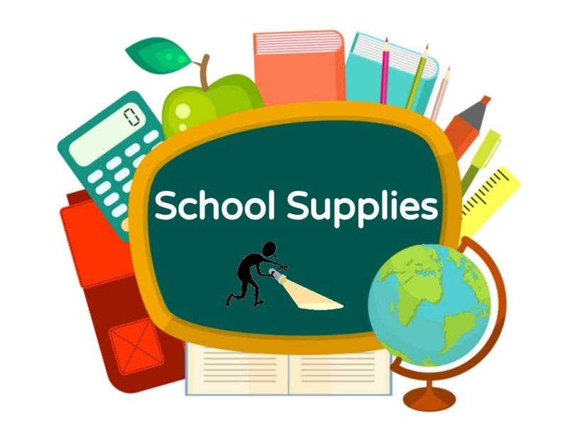 School Supplies KG by wademitch86