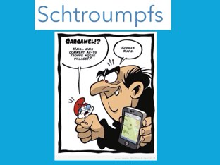 Schtroumpfs by Jeanne S.