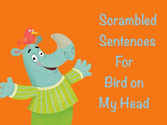 Scrambled Sentences by Karen Souter